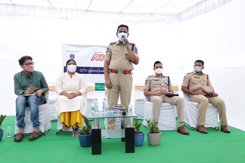 ADP collaborates with Cyberabad Police to raise security; Installs over 50 CCTV cameras in the city