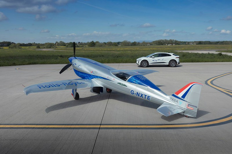 Rolls-Royce welcomes All-Electric Ground Support from Jaguar Land Rover for All-Electric Flight Speed World Record Attempt