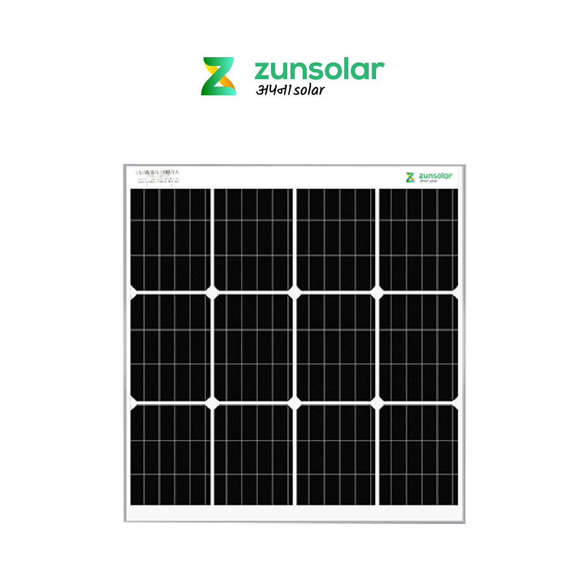 ZunSolar Helps India Go Solar, Launches High-Efficiency 50W Mono PERC Rooftop Solar Panel