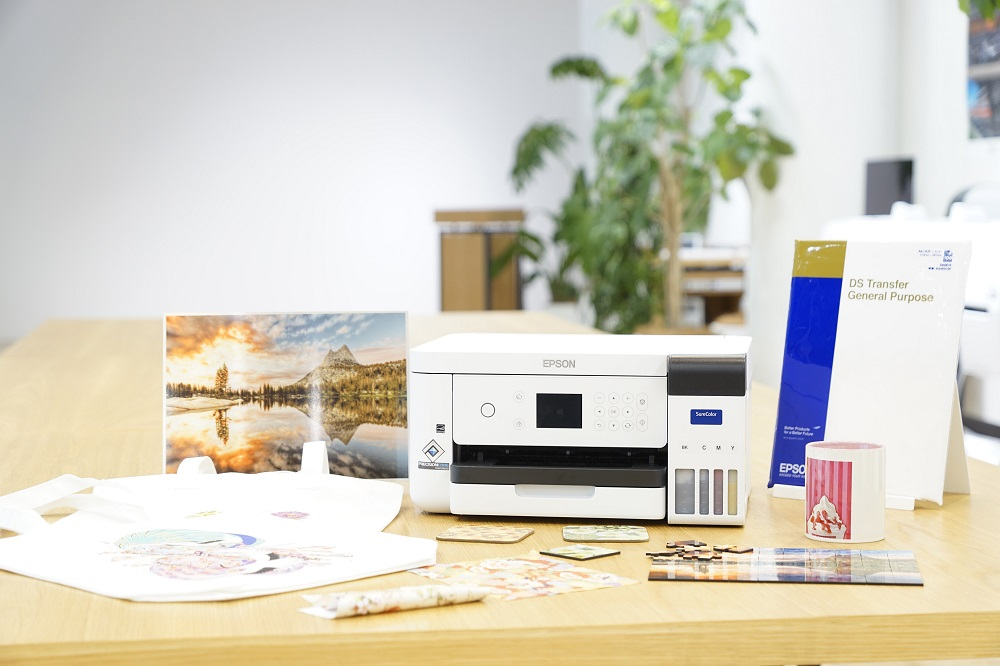 Epson launches A4 size dye-sublimation printer for producing promotional, personalized and bespoke products