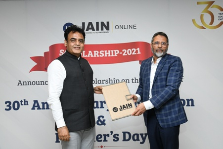 Jain group offers scholarships to the tune of rs 10 crores