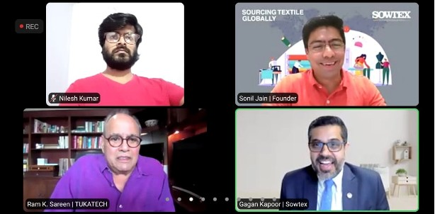 Indian-Origin B2B Sourcing Platform 'SOWTEX' Joins Hands with USA -based Fashion Tech provider 'TUKATECH'