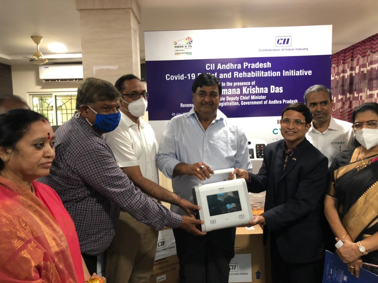 Westinghouse Electric Company Donates Medical Equipment Worth INR 63 Lakhs to Government General Hospital, Srikakulam, Andhra Pradesh, Supported by CII and Cyient Foundation