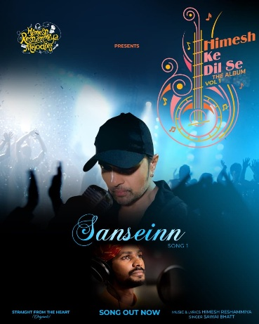 Himesh choses a unique and different strategy for his next composition Sanseinn sung by Sawai Bhatt