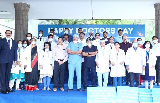 Apollo Hospitals commemorates National Doctors' Day, by saluting the Doctors for their commitment to patient care!