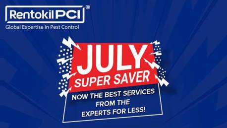 Rentokil PCI launches July Super Saver Campaign for Residential Customers – Brings in Exciting Offers on Pest Control and Disinfection Services.