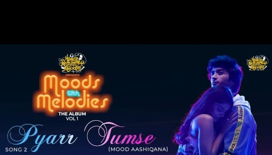 Pyaar Tumse' featuring Salman Ali , Tiger Pop with the Hit pair Parth and Ishita Chauhan from Himesh Reshammiya's super hit album, Moods with Melodies is OUT NOW