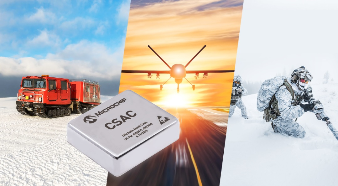 New Chip Scale Atomic Clock (CSAC) Provides Wider Operating Temperatures, Faster Warm-up and Improved Frequency Stability in Extreme Environments