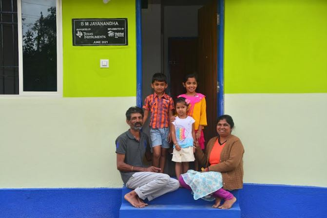 Disaster Resilient Homes Uplift Families in Kodagu