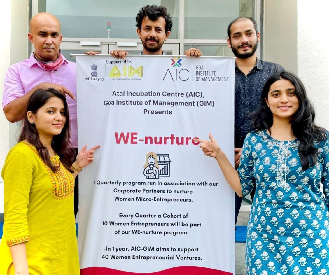 AIC-GIM begins its first cohort of 10 women entrepreneurs within the We – nurture programme