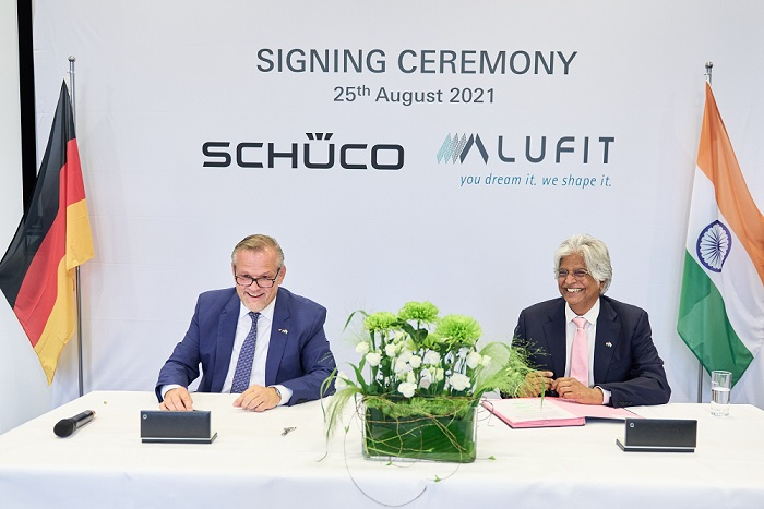 Schueco International KG acquires majority share in Alufit International Private Limited…