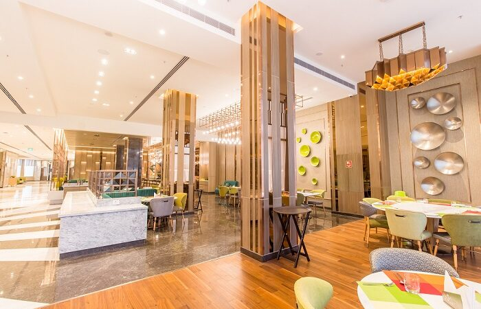 Step into the world of contemporary dining and indulge in the finest at Viva - Holiday Inn Chandigarh Zirakpur