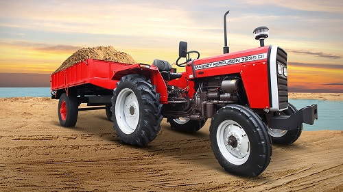 TAFE Launches Massey Ferguson 7235 -Commercial &Haulage Special Tractor  for Bihar, Jharkhand and Haryana