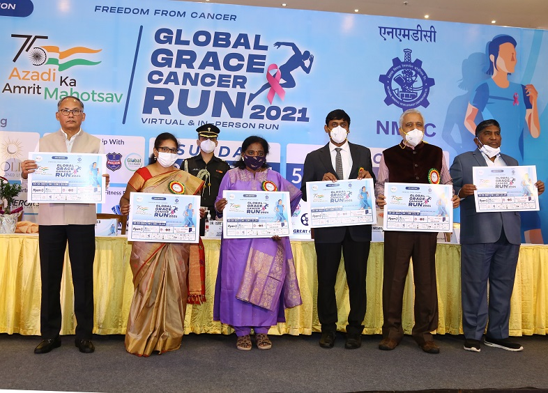 NMDC partners with Grace Cancer Foundation for Freedom Run 2021