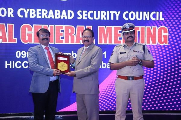 Seen DGP Mahender Reddy at the SCSC's Annual General Meeting. Also seen in Stephen Ravindra
