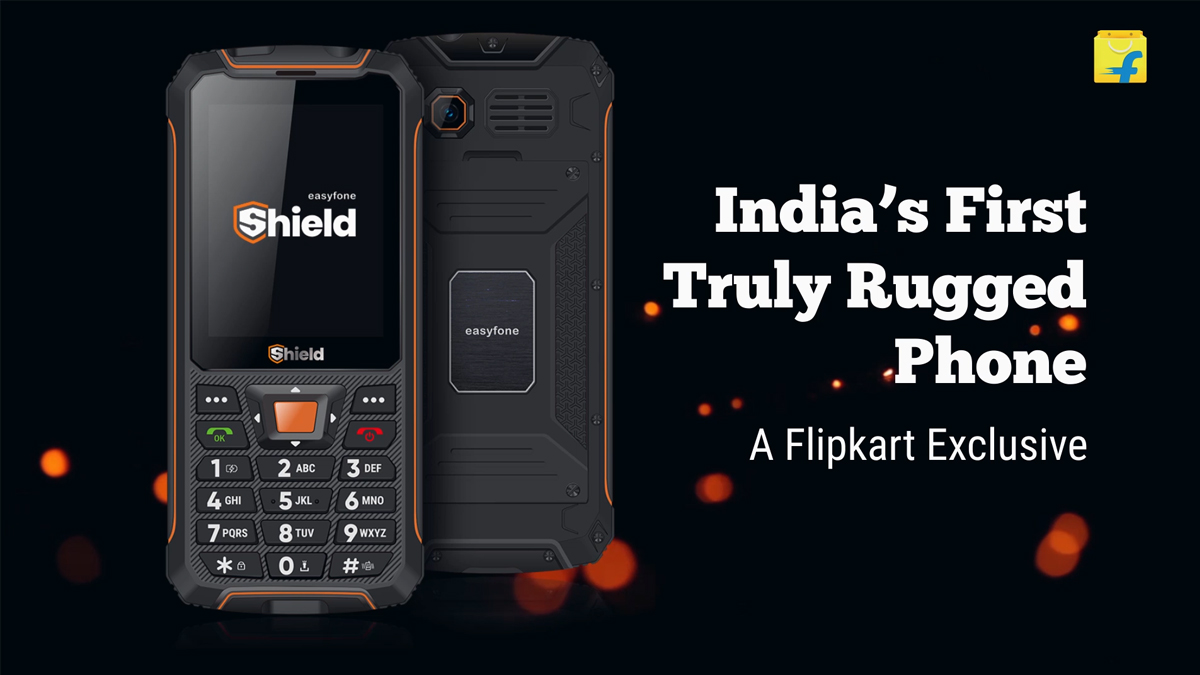 easyfone launches India's First truly Rugged Phone with IP 68 Certification
