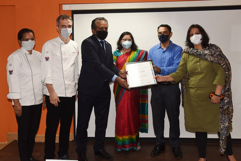 VMSIIHE bags coveted 'Eat Right Campus' certification by FSSAI