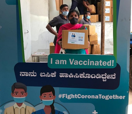 Vaccination camp